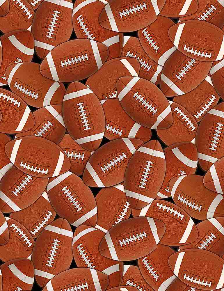GAIL-C8342 / BROWN / PACKED FOOTBALLS
