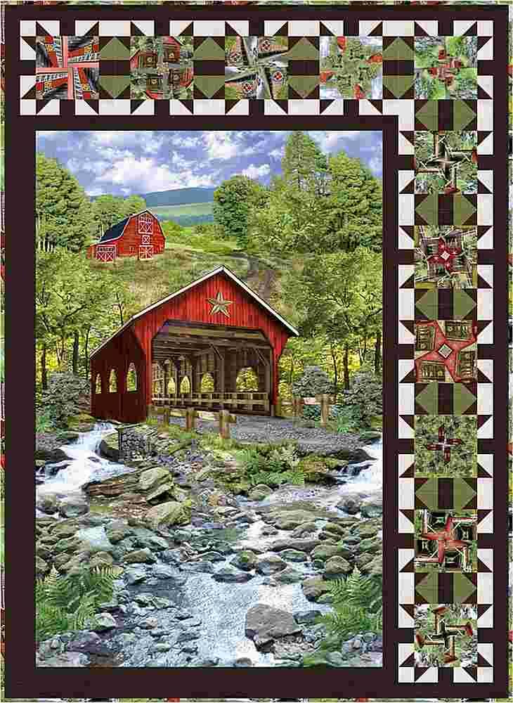 Projects / COVERED BRIDGE - QUICK TWIST