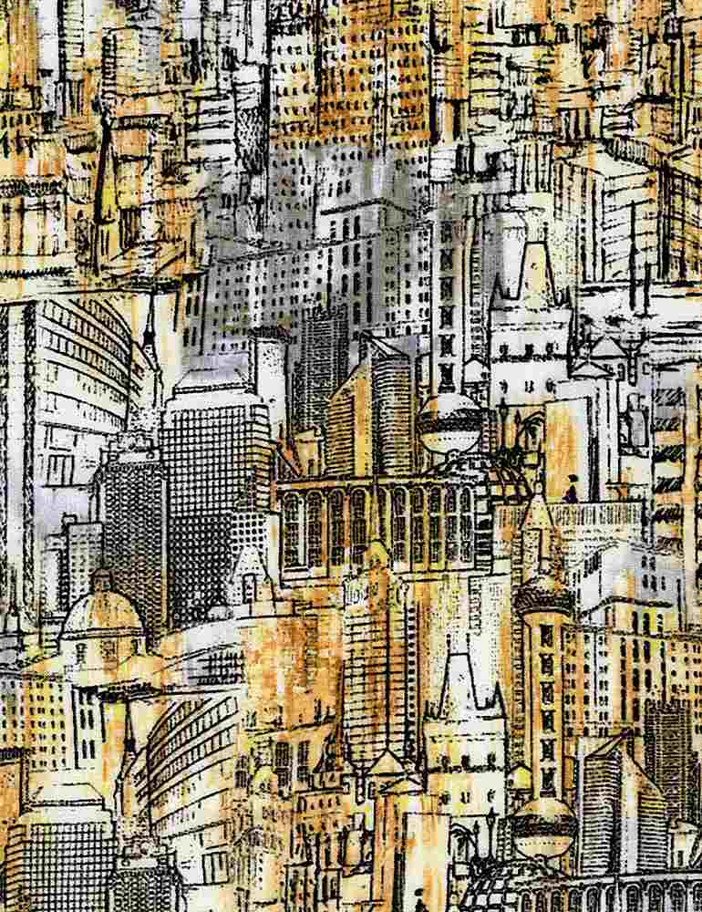CITY-C8316 / MULTI / URBAN LANDSCAPE SKETCH