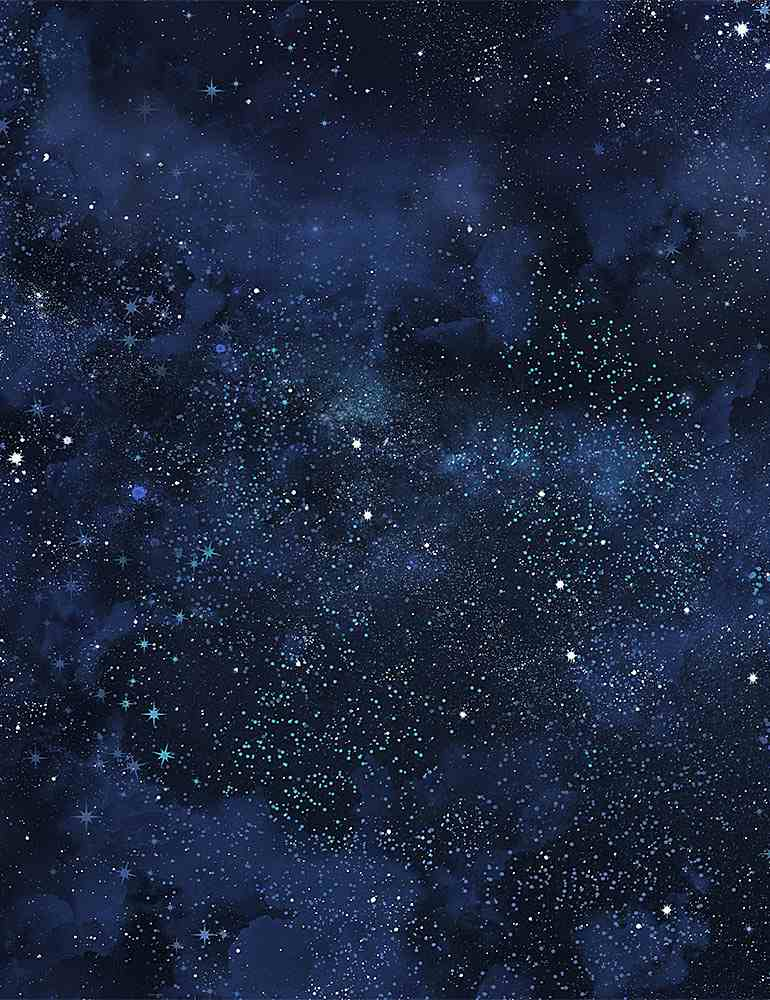 STAR-C8349 / NAVY / TWINKLING NIGHT SKY