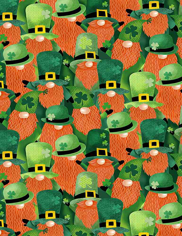 GAIL-C8332 / MULTI / PACKED LEPRECHAUNS
