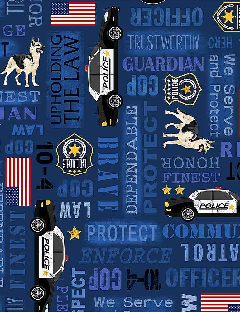 POLICE-C8407/BLUE / POLICEWORDS