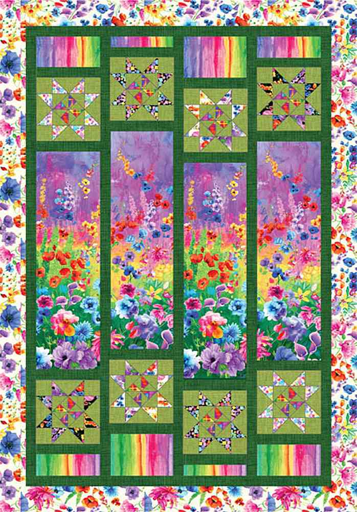 Projects / DAY DREAMING - PANEL QUILT