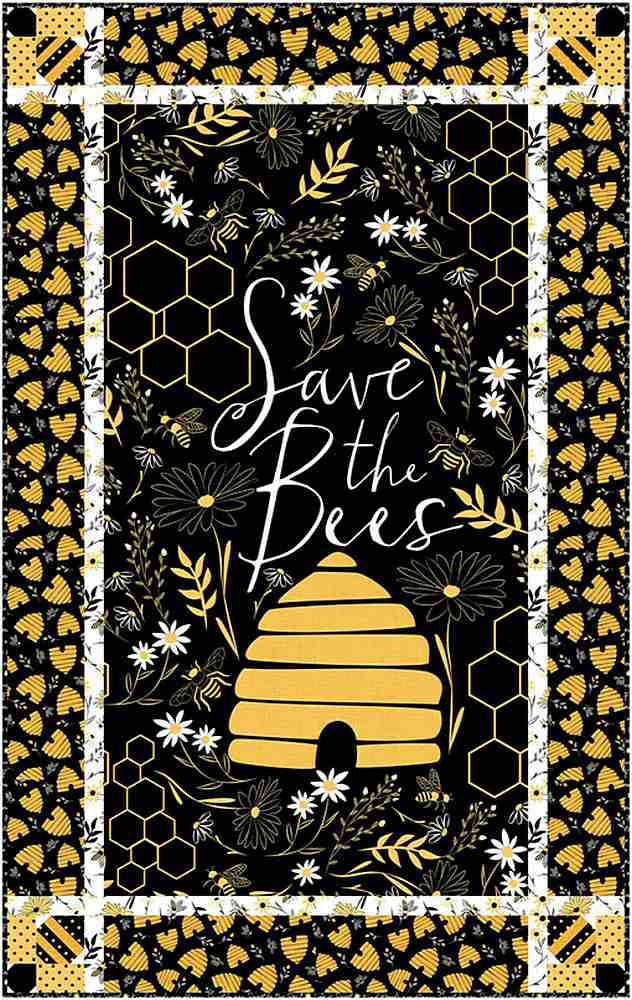 Projects / SAVE THE BEES - PATTERN PLAY