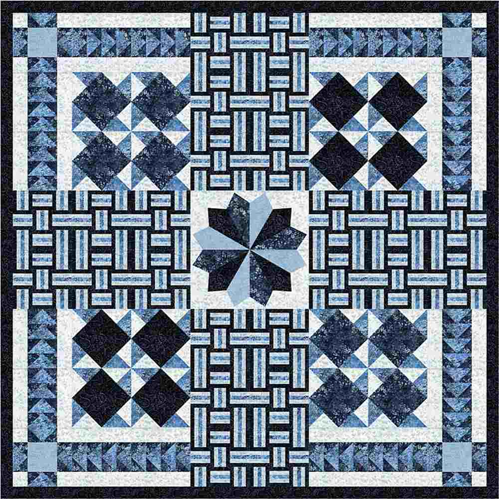 Projects / TONGA BLUE MOON - WOVEN