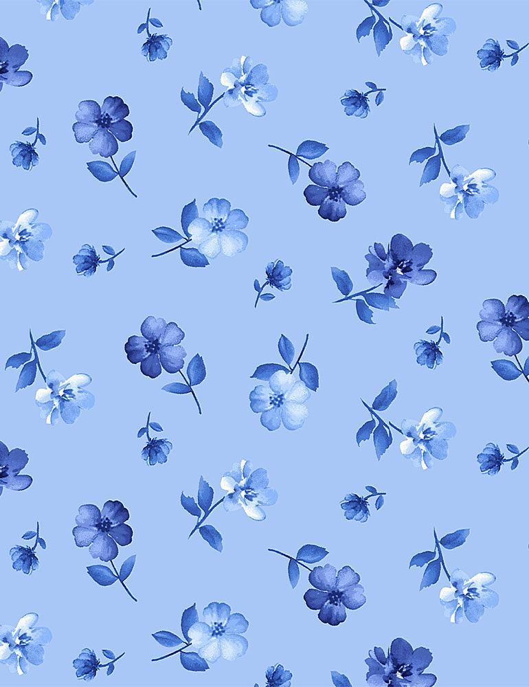 FLEUR-C8450/BLUE / TINYBLUEFLOWERS