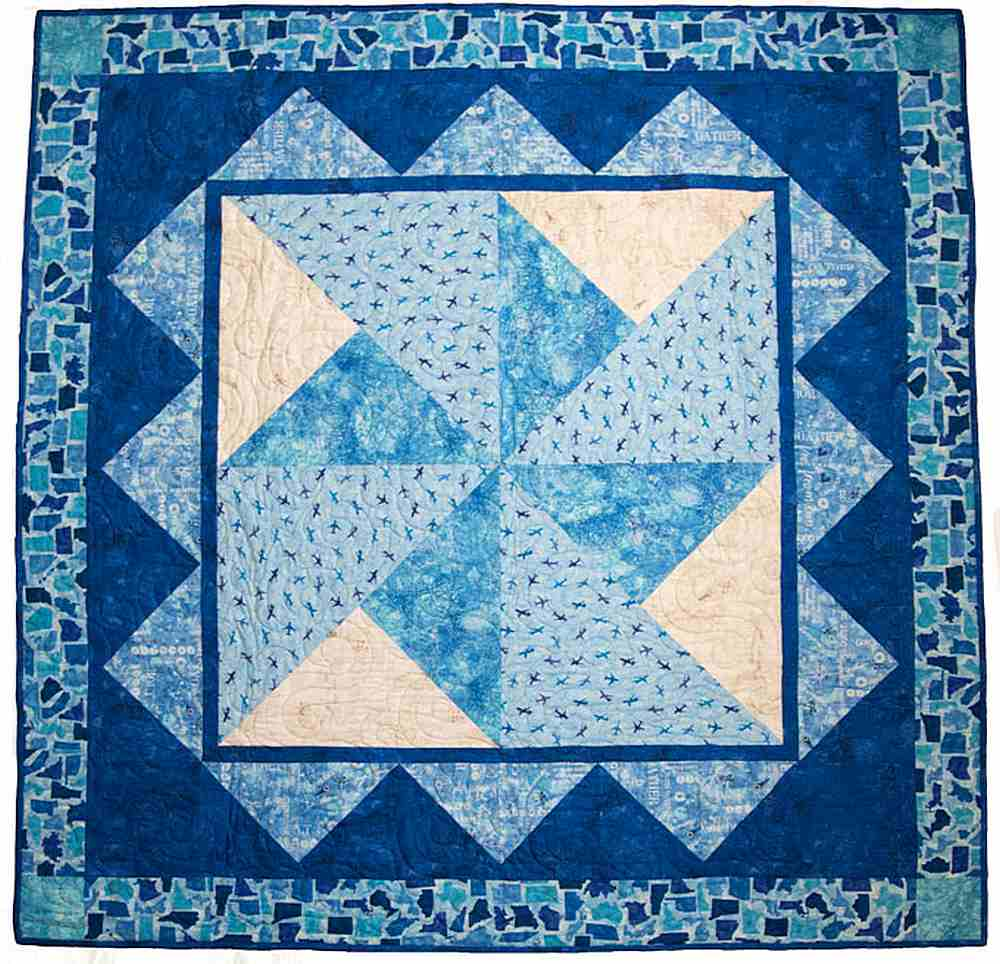 Projects / QUILTERS TREK - SLICE OF SUMMER