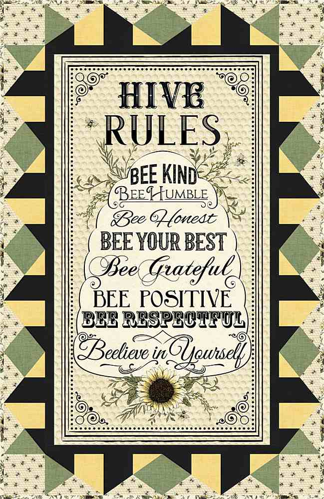 Projects / HIVE RULES - WALL HANGING