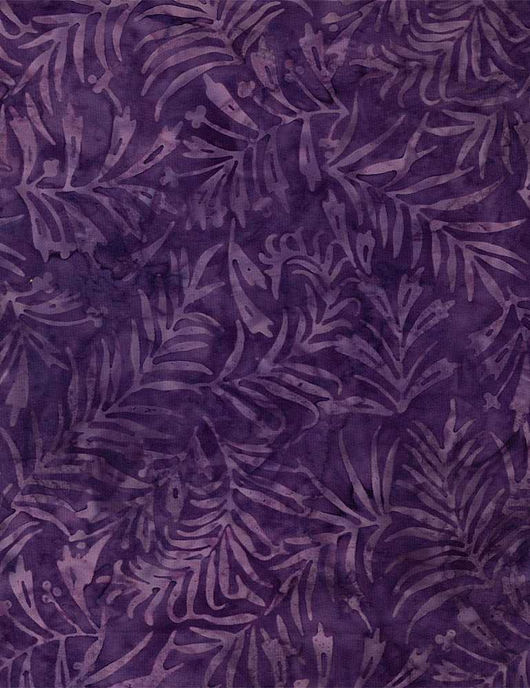 TONGA-B7780 / AMETHYST / SCALLOPED FLORAL