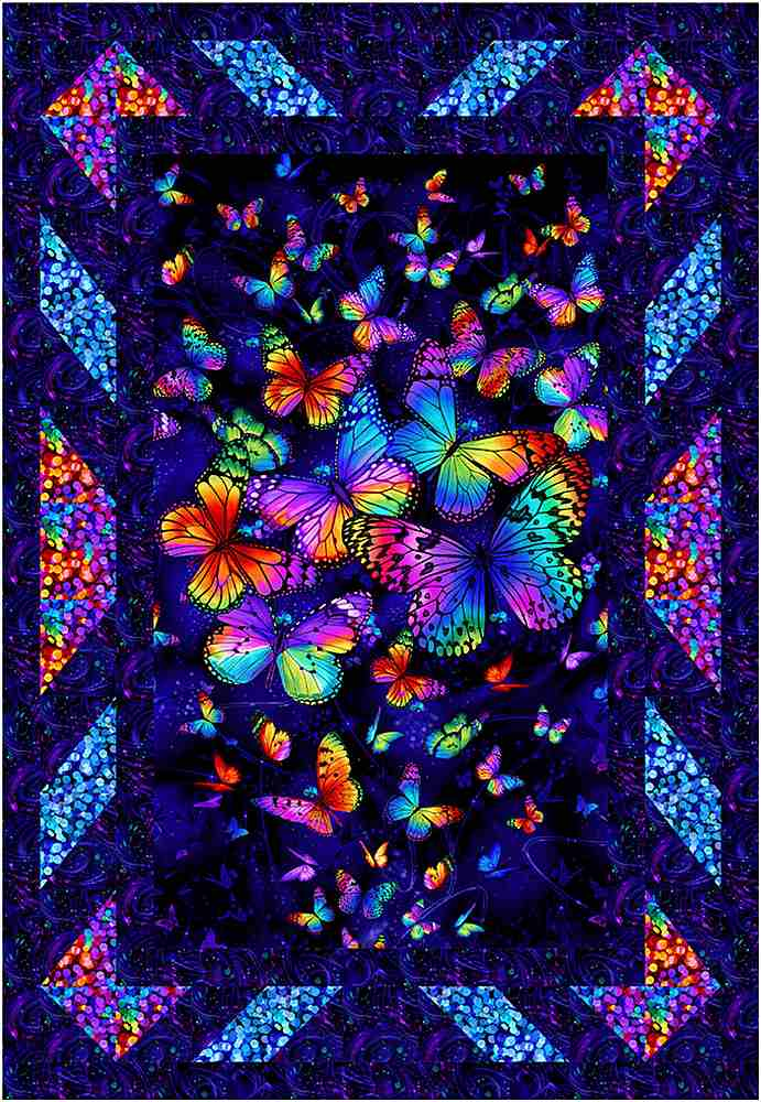 Projects / BUTTERFLY MAGIC - BEDAZZLED