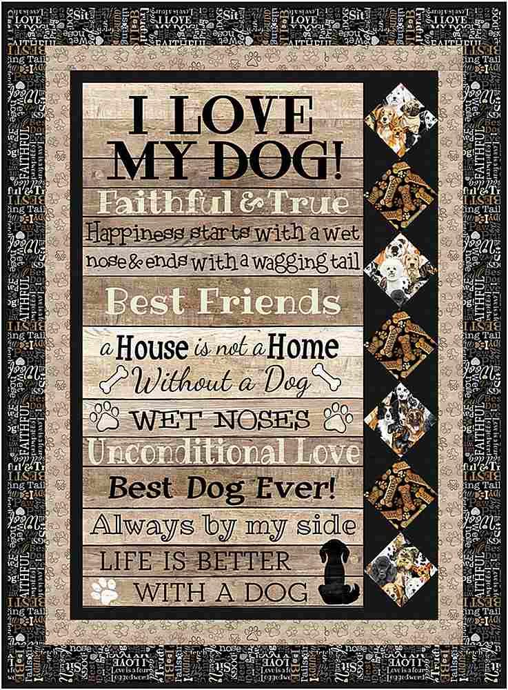 Projects / I LOVE MY DOG - SIDEBAR