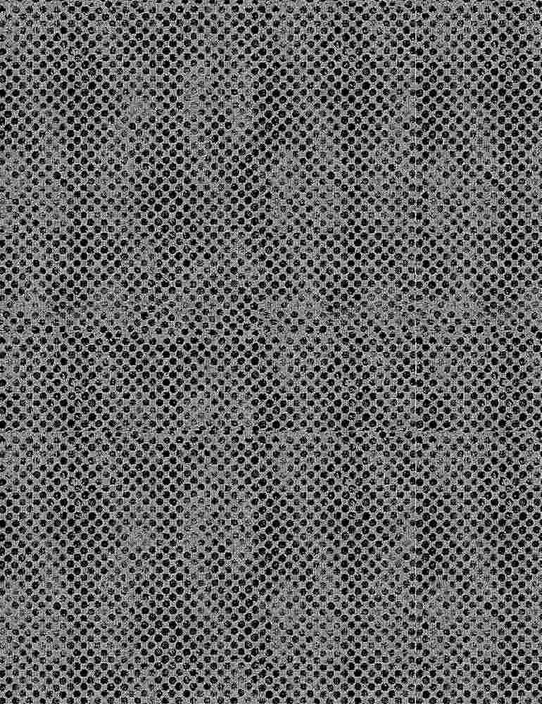 DOT-C8697 / GREY / UNEVEN DOTS