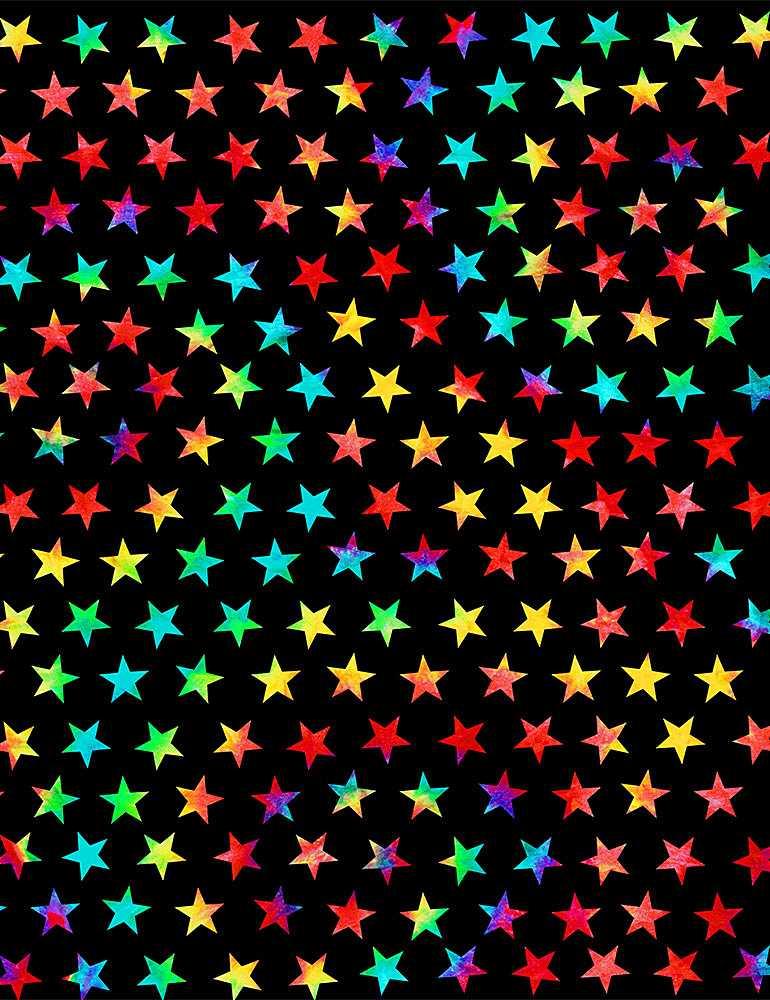 STAR-C8713/BLACK / TIEDYEGROOVYSTARS