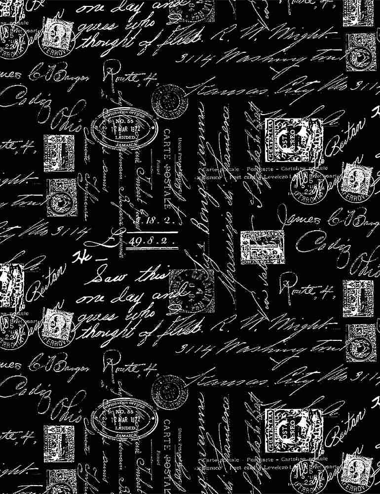 INK-C8733/BLACK / FANCYSCRIPTTEXT