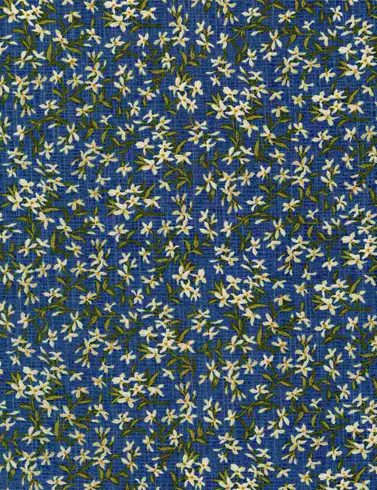 JT-C8491/BLUE / SMALLFLORALSWITHLEAVES