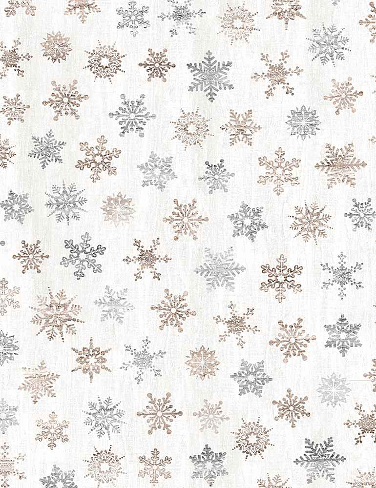 WSOFTIE-PD7477 / CREAM / RUSTIC LIGHT SNOWFLAKES