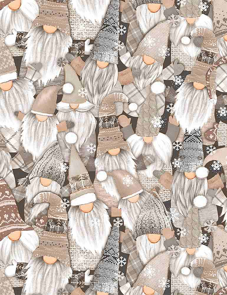 WSOFTIEG-PD8208 / NATURAL / PACKED WHITE HOLIDAY GNOMES