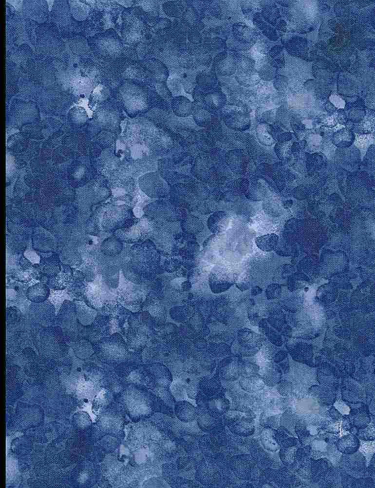 KIM-C6100/BLUE / SOLID-ISHWATERCOLORTEXTURE