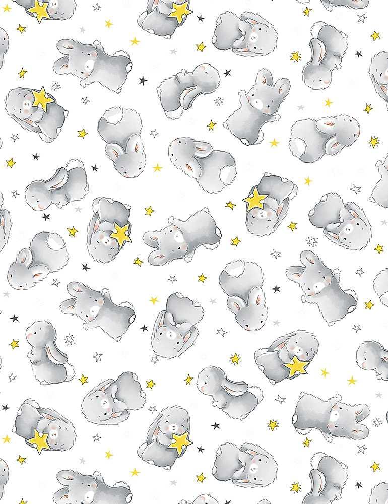 WSOFTIEB-PD6451/WHITE / HAPPYBUNNIES
