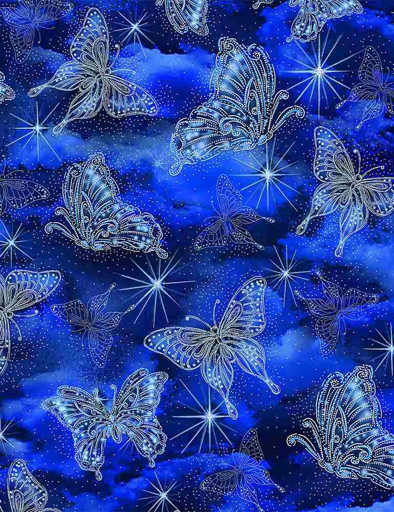 FAIRY-CM8862/BLUE / SPARKLINGFAIRYBUTTERFLIES