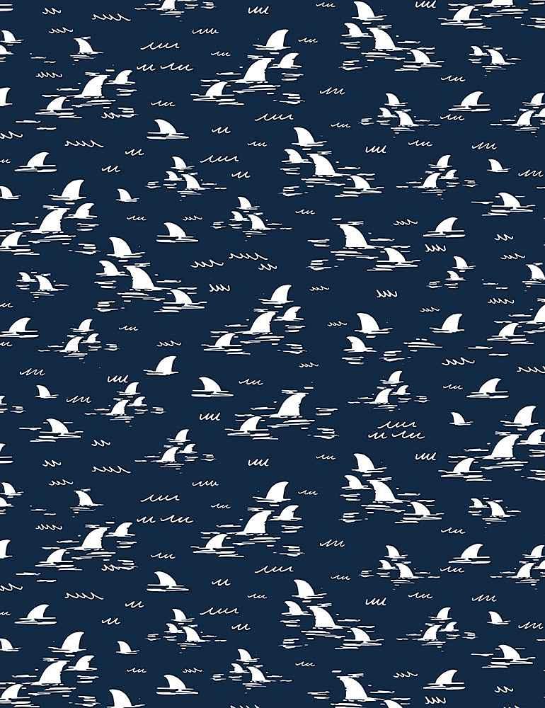 FUN-C8929/NAUTICAL / SHARKFINS