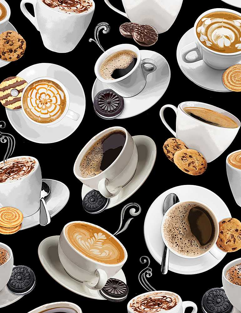 COFFEE-C8956/BLACK / TOSSEDCOFFEE