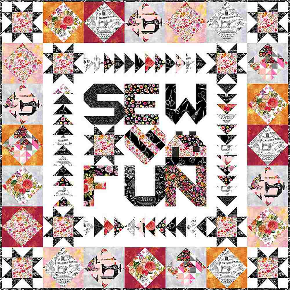 Projects / SEW FLORAL - SEW FUN
