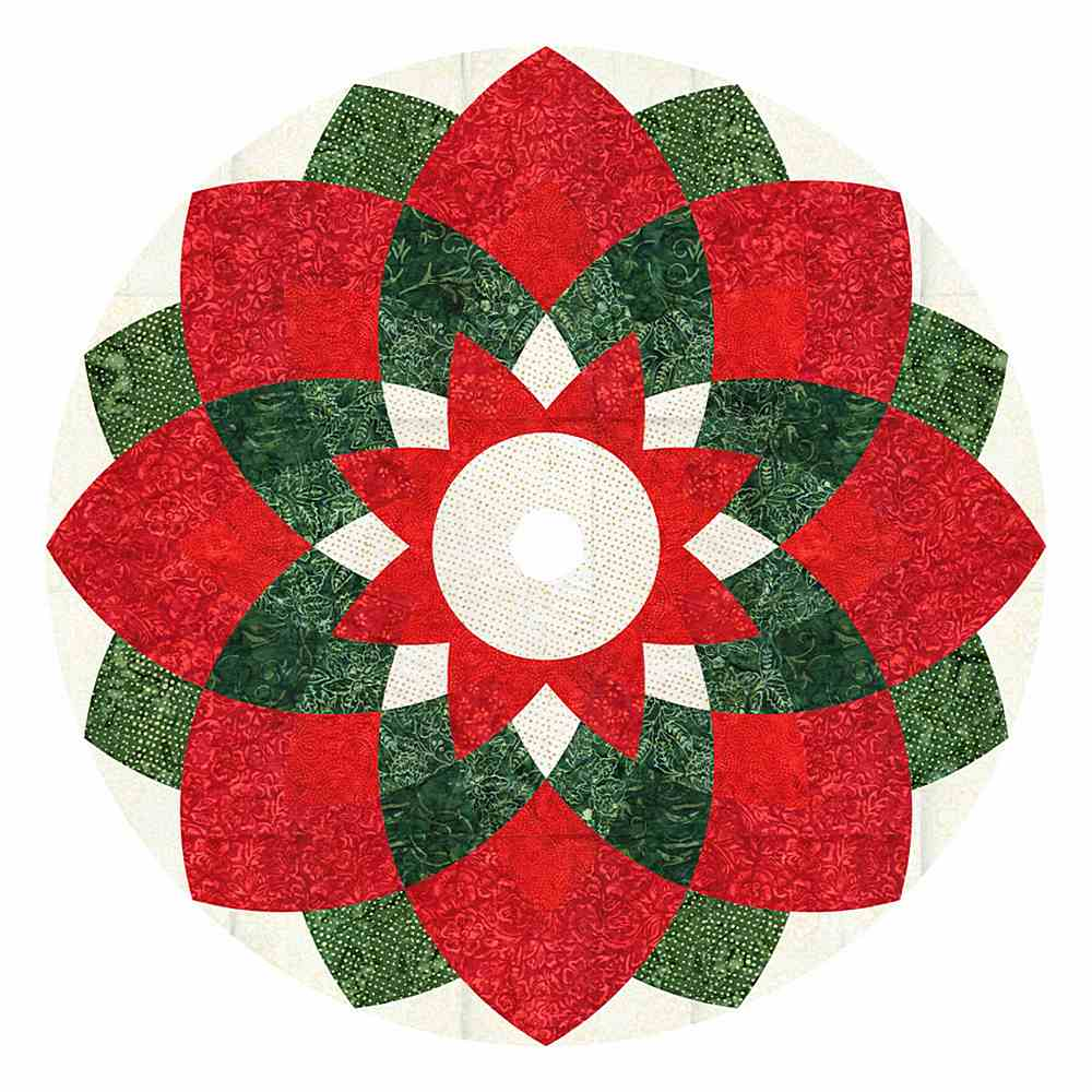 Projects / TONGA MERRY - TREE SKIRT