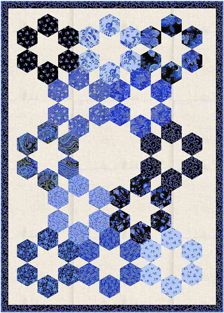 Projects / SAPPHIRE - HONEYCOMB FLOWERS