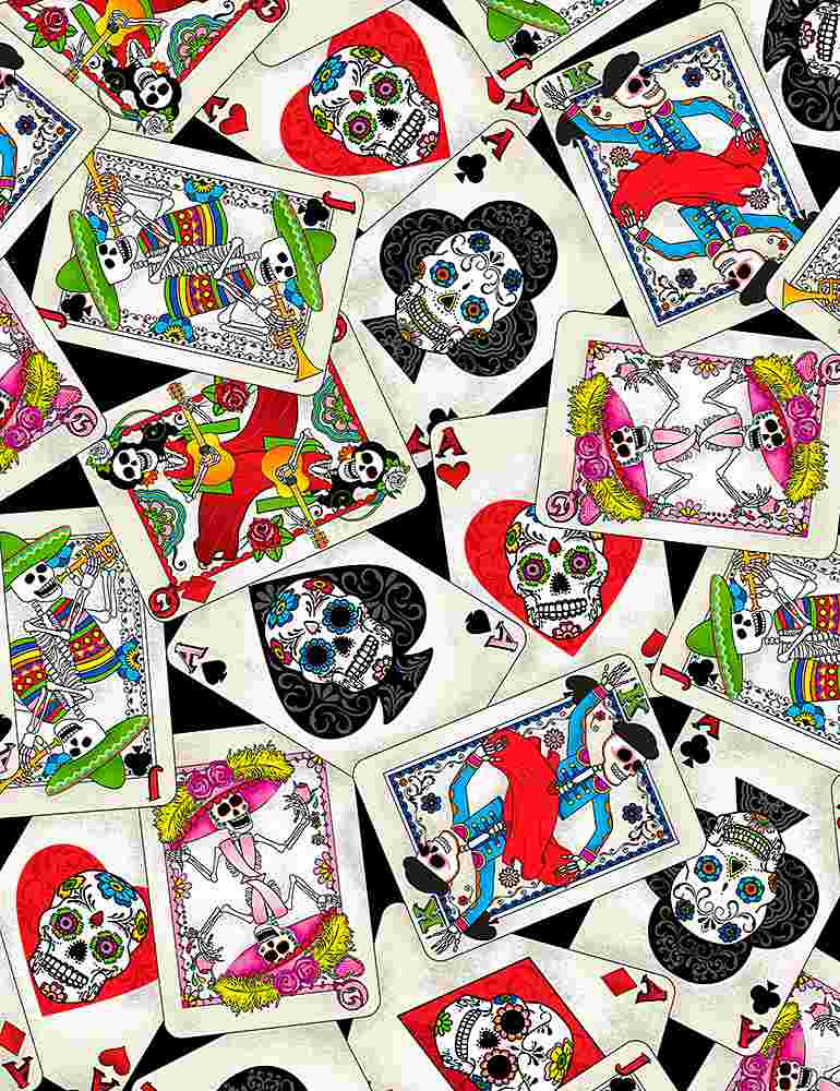 FUN-C1206/BLACK / DAYOFTHEDEADCARDS