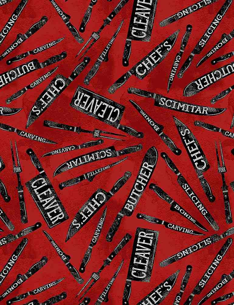 GAIL-CD1335/RED / BUTCHERKNIVES