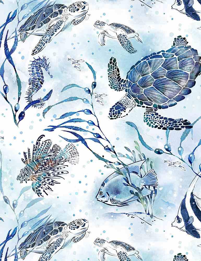 THOMAS-CD1298/BLUE / OCEANBLUETURTLES