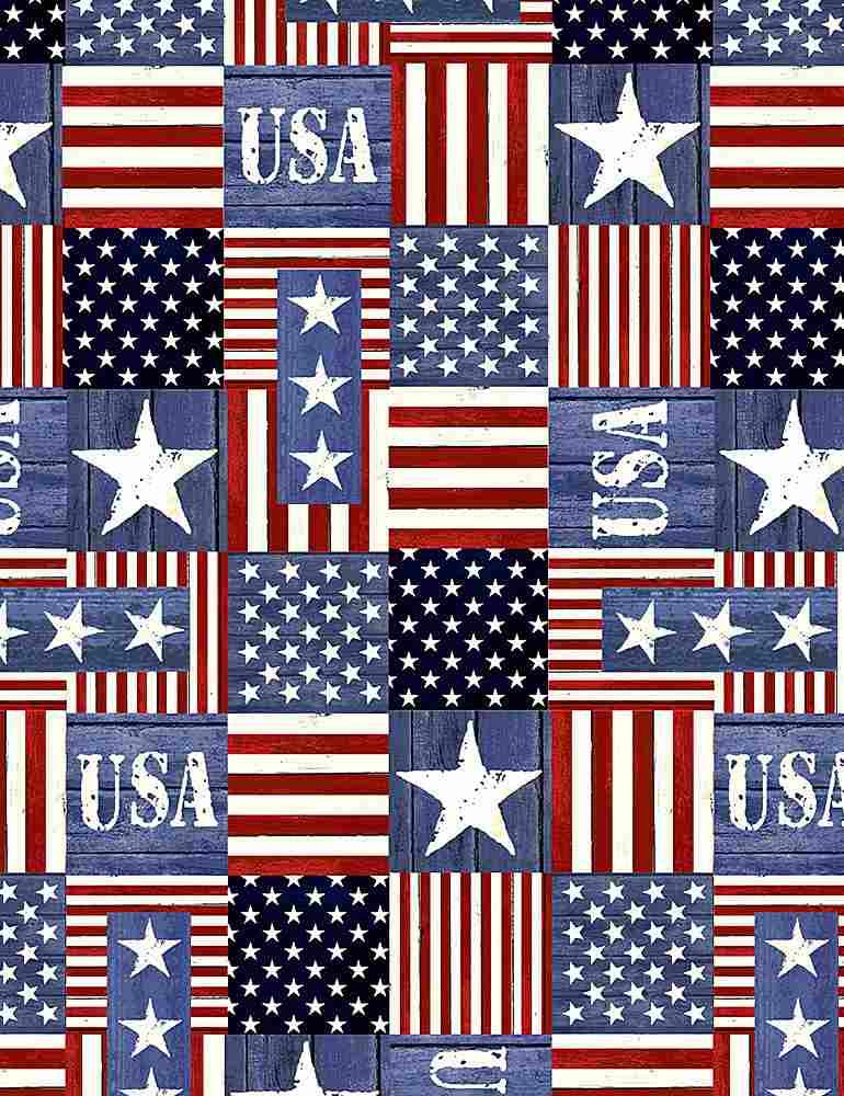 USA-C1338/USA / STARSANDSTRIPESBLOCKS