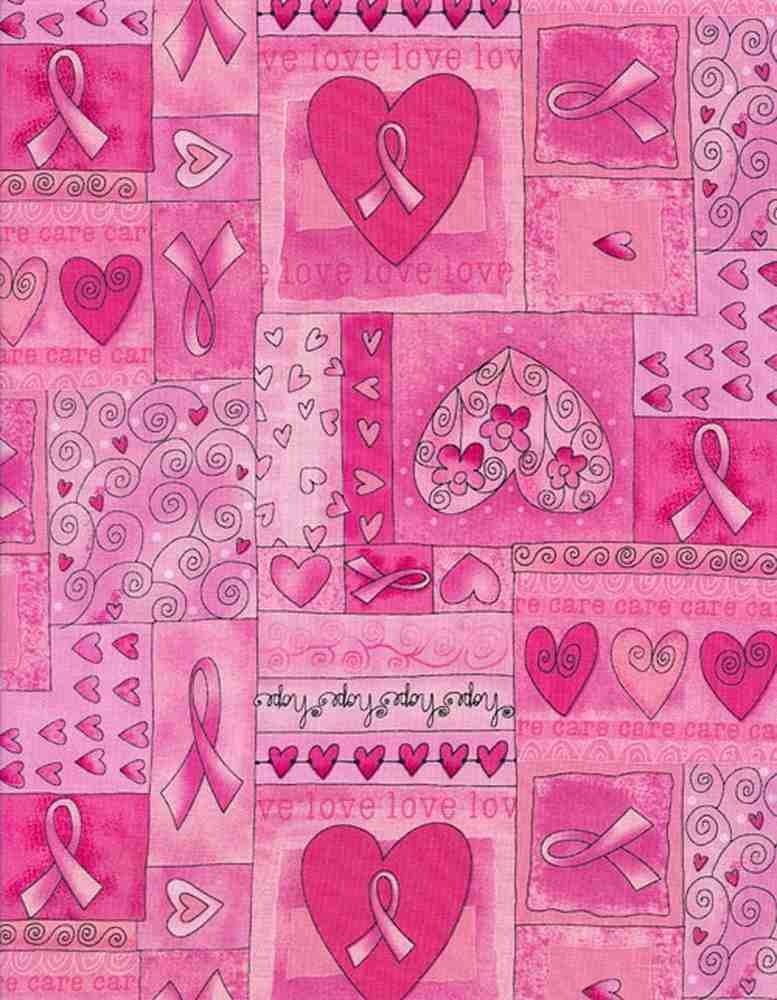 GAIL-C1766 / PINK / BREAST CANCER PINK RIBBON